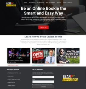 Be an online bookie