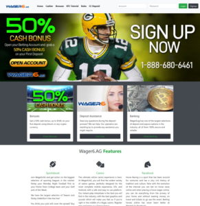 Bet on Sports with Wager6.ag