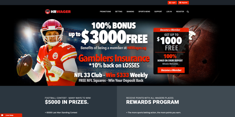 HR Wager Sportsbook Review